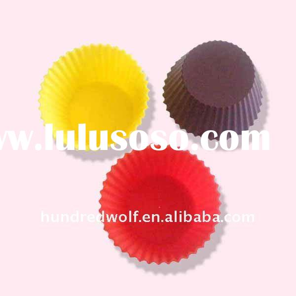 2011 modern kitchenware silicone cake pan mold