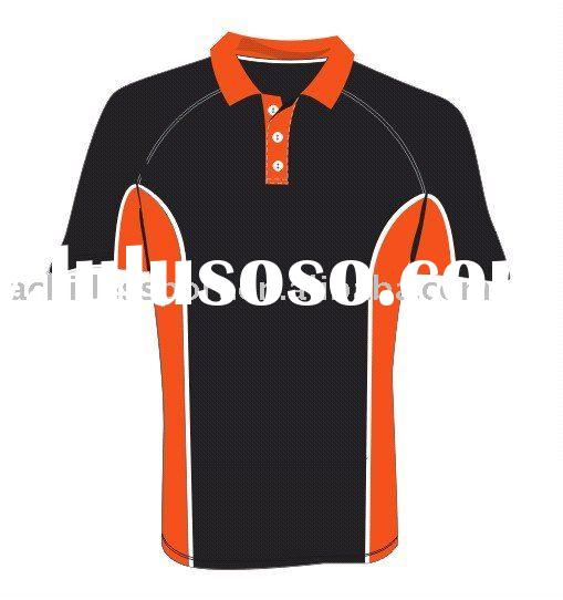2011 new Polo shirt,breathable fabric,OEM design-P-719