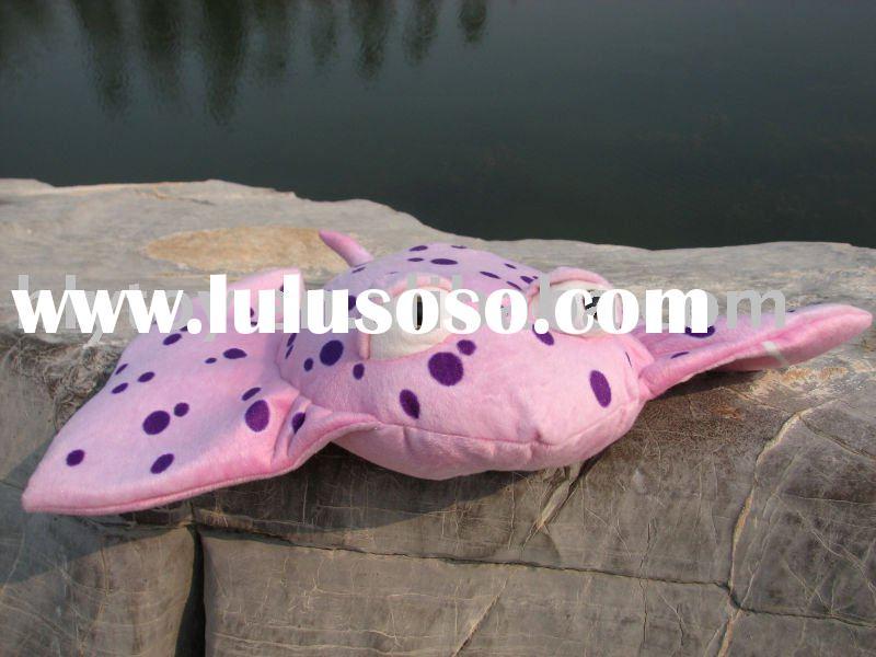 2011 new soft pillow fish toy factory sale