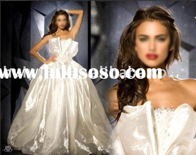 2011 princess arabic wedding dress