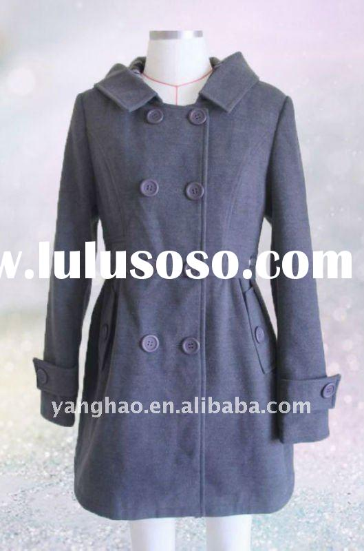 2011european new fashion women winter dress coats