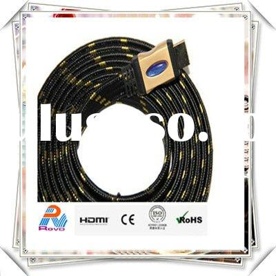 2012 1080p Gold HDMI M/M Cable 10' FT for PS3 XBOX HDTV LCD