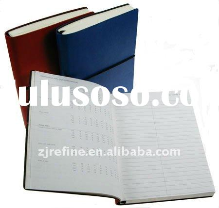 2012 Diary Notes book