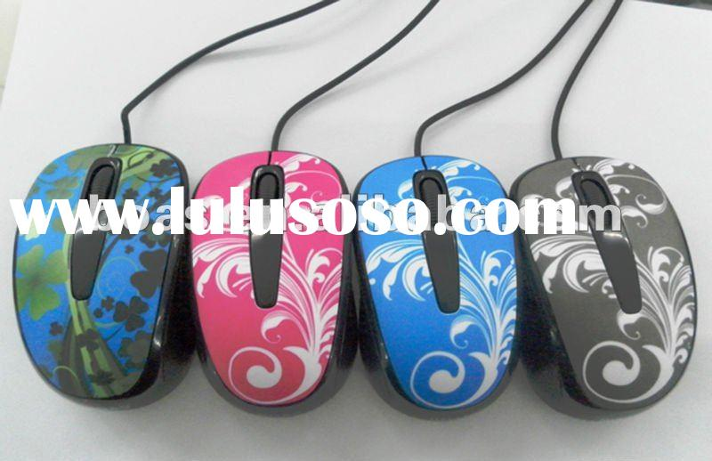 2012 Hot sale optical mouse/Cheapest 3.5mm mouse/Newest promotional wired mouse