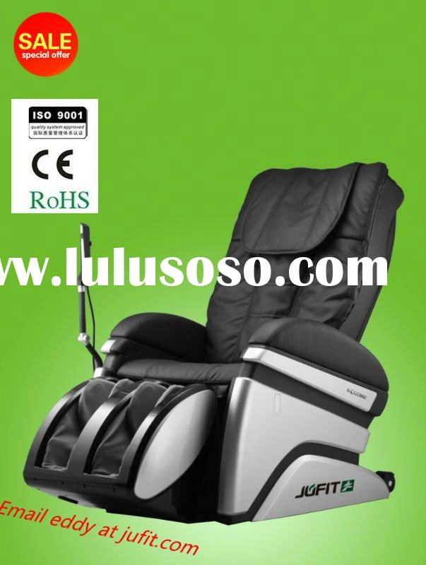 2012 NEW Massage Chair Massager/Luxury Electric Body Care Massage Chair/spa pedicure chair Black Lea