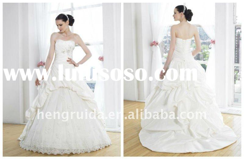 2012 Princess Celebrity Wedding Dress XU0319