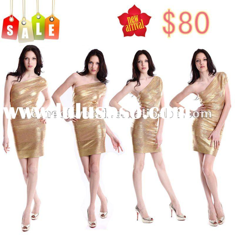 2012 fashion dress, Golden Lady fashion dress for Wholesale & Retail!