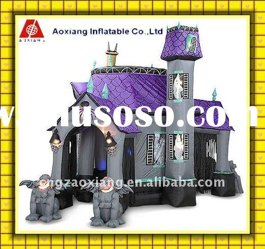 2012 hot sale Halloween witch monster Castles inflatables