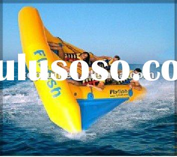 2012 hot selling inflatable flying fish boat