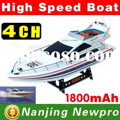 "28"" Atlantic Yacht R/C Luxury Racing Boat RC Electric Radio Remote Control Sports Ship/Speed Bo"