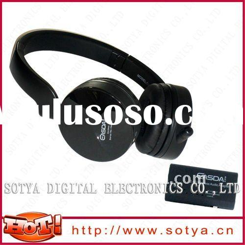 2.4Ghz Wireless Headphone Headset With Mic For TV, PC