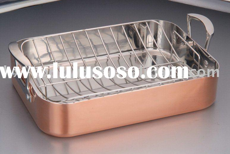 2-ply square copper clad Cookware/Griddle