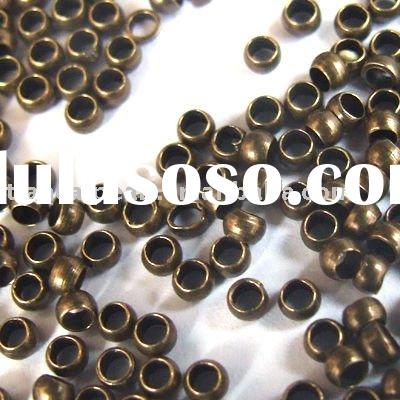2mm antique brass bronze crimp beads Jewelry Findings Jewelry Accessories Jewelry Fittings Jewelry C
