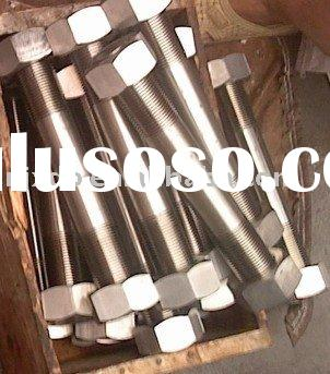 321(1.4541)/347(1.4550) stainless steel stud bolt&hex nuts 317L