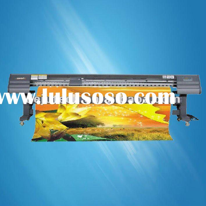 3.2M large format fast speed outdoor solvent inkjet sticker printer