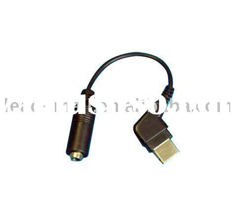 3.5mm Stereo Headphone Adapter for Samsung D800
