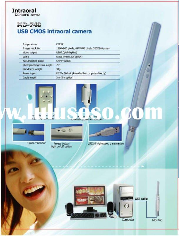 3.8 MEGA PIXELS DENTAL INTRAORAL CAMERAS USB CONNECTION