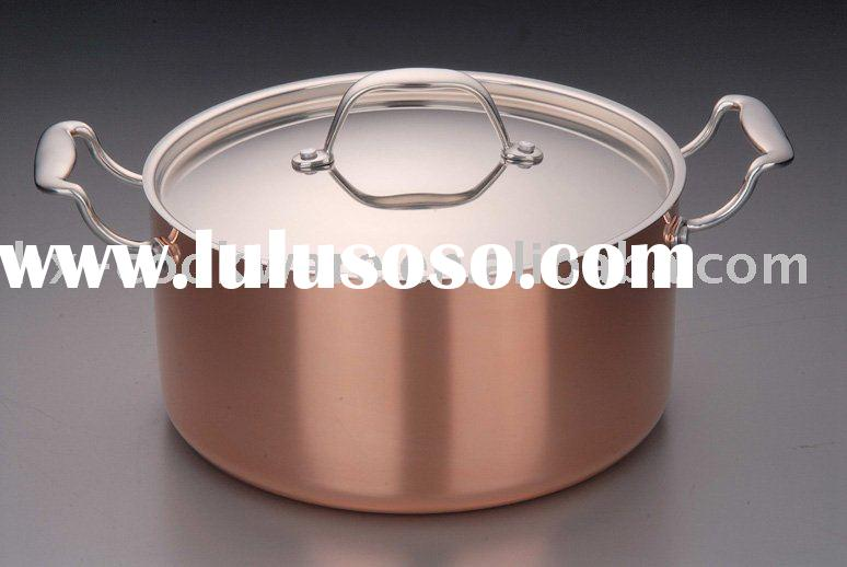 3-ply Copper clad Cookware