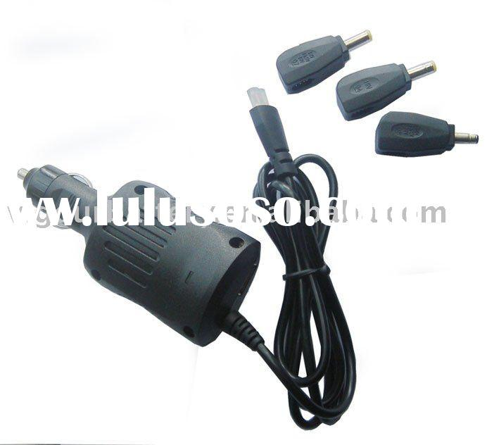 48W Automatic Car Switching Universal Power Adapter for Netbook Laptop with 3-5pcs DC Tips