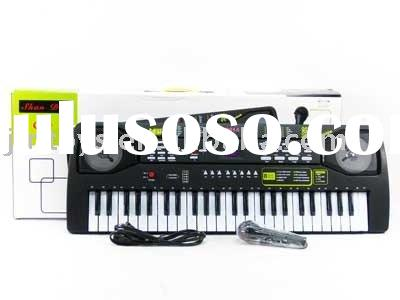 49Key Electronic Organ with Microphone,electronic keyboard,electronic piano,musical toys,musical ins