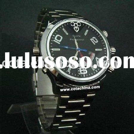 4GB 1280*720 30 FPS Waterproof Watch Camera Recorder with video, photo and audio functions