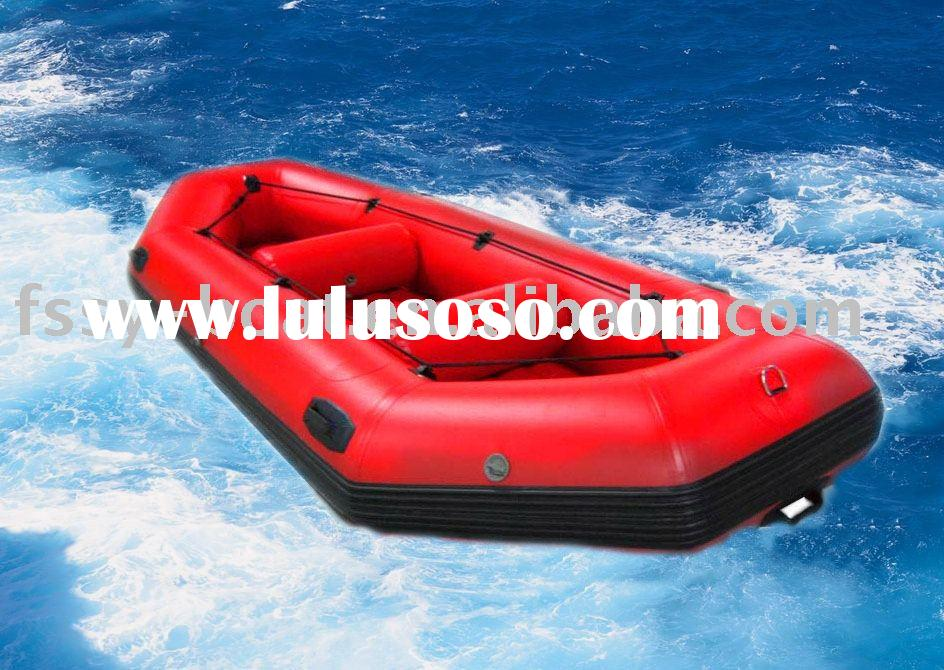 4 seats Inflatable Whitewater Raft,4 People Rafting boat,Raft
