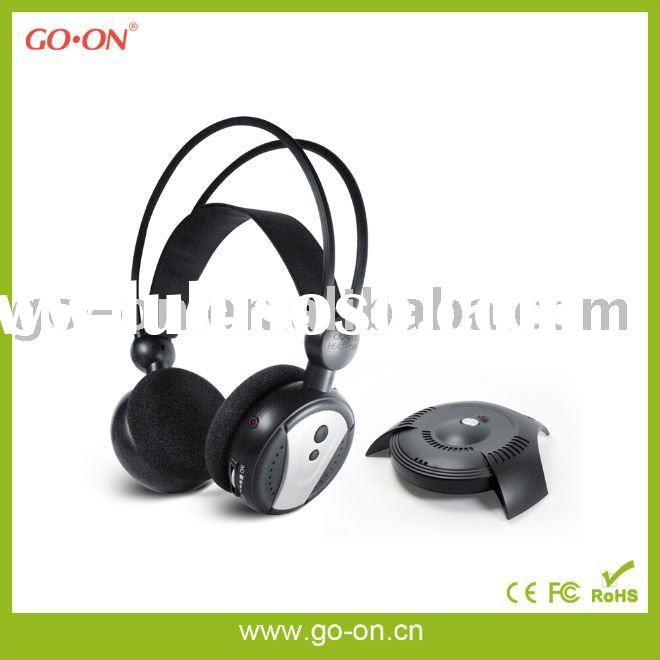 5 IN 1 RF computer headphone with Microphone and FM radio