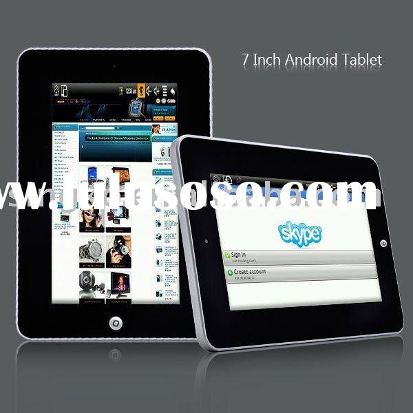 "7"" Google Android OS 2.0 OEM Laptop WiFi Touch Screen Camera Tablet PC MID CPU DDR 256M Netbook"
