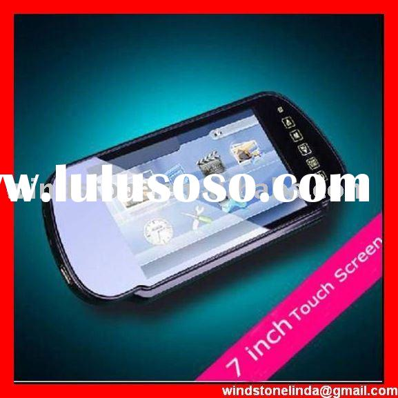 7 inch Video monitor Mirror/7 Inch Car Mirror/Stereo Bluetooth backview headsfree system --BT770SEC4