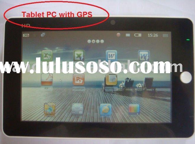 7'' windows CE tablet pc,3G,touch panel,GPS,Camera,wifi