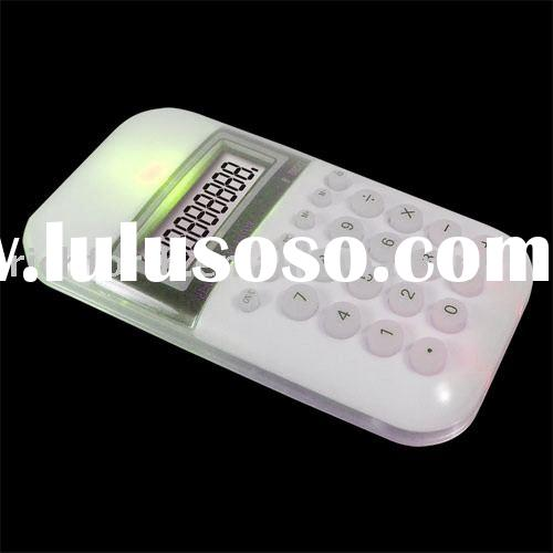 8 digital calculator,electronic calculator,LED night light,RF27232