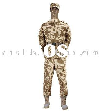ACU 2 All-cotton T/C British Army Desert Military Camouflage Uniform