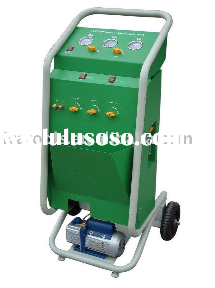 AC Refrigerant Recycling and Recharging Machine