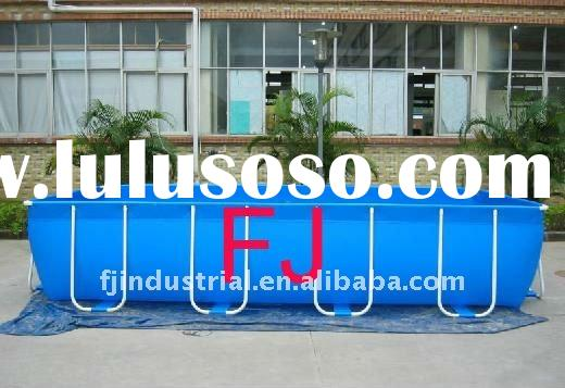 Acylic above ground swimming pool jcs ss1 for sale price for Above ground swimming pool manufacturers
