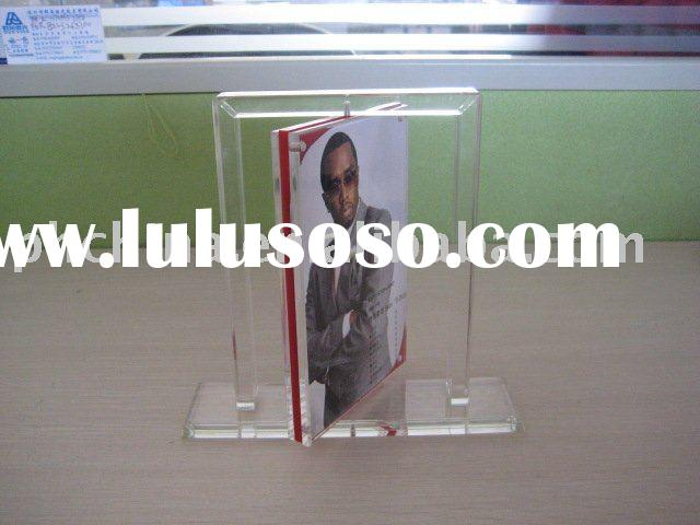 Acrylic Rotating Photo Frame;Acrylic Picture Frame;Acrylic Photo Stand