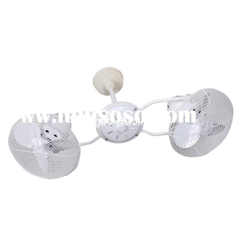 Archaize Craft Work Ceiling Fan With Two Fans