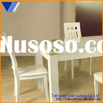 Artificial stone dining table Artificial marble dining table