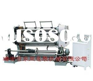 Automatic Plastic Big Roll into Small roll Slitting & Rewinding Machine