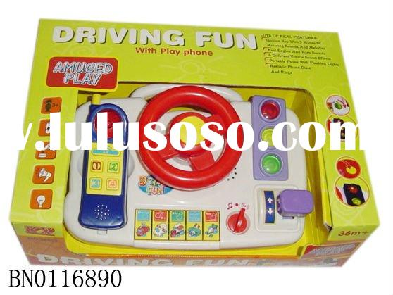 B/O STEERING WHEEL,MUSICAL INSTRUMENT TOYS,ELECTRONIC KEYBOARD