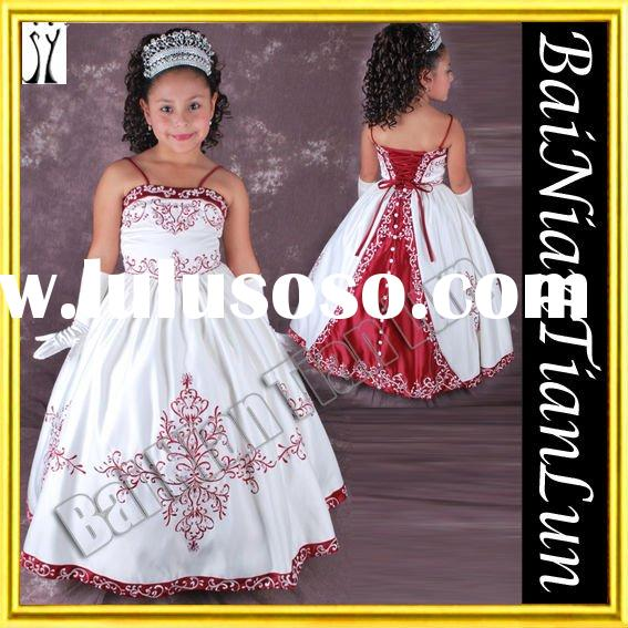 Baby Doll-like Enchanting Little Princess Flower Girl Dress