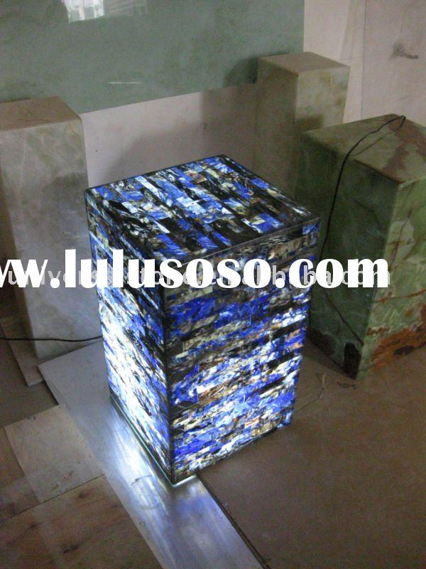 Backlit Afterglow Onyx Table For Sale Price China