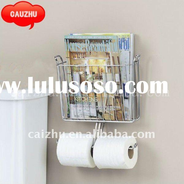 Bathroom wall mounted cup holder for sale price china manufacturer supplier 1919045 for Wall mounted bathroom magazine rack
