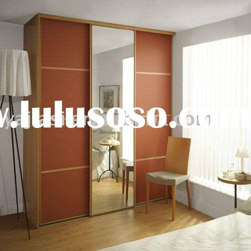 Wood bedroom cabinets almirah for sale price china for Bedroom cabinets for sale