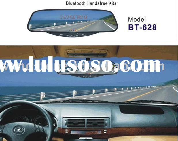 Bluetooth car mirror/bluetooth stereo handsfree system with LED display---BT628C4