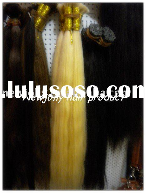 Bulk hair for braiding, 100% human hair in different quality