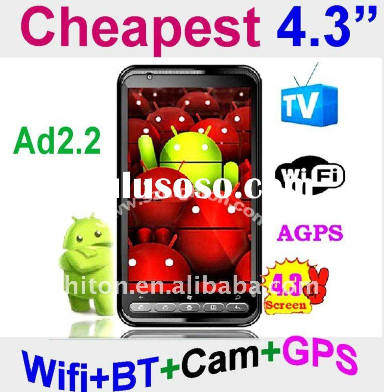 CHEAPEST 4.3inch Android Mobile Phone