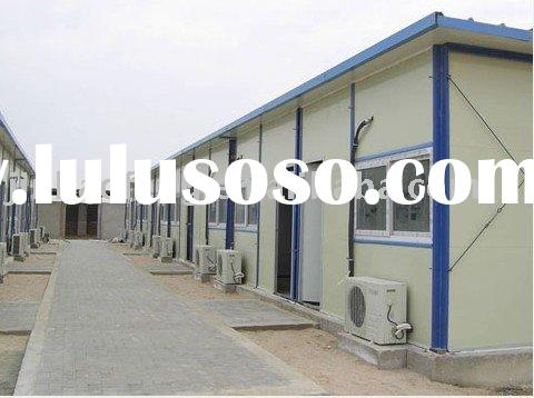 CHINESE LOW COST STEEL STRUCTURE PREFABRICATED HOMES