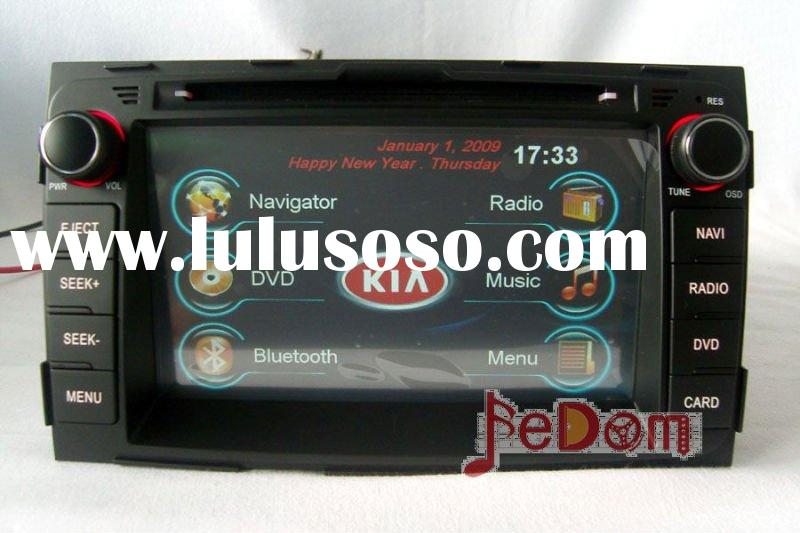 Car DVD GPS for Kia Sportage 2011+Touch Screen+SD Map+Bluetooth+iPod+FM/AM+MP3/MP4+games+note book+D