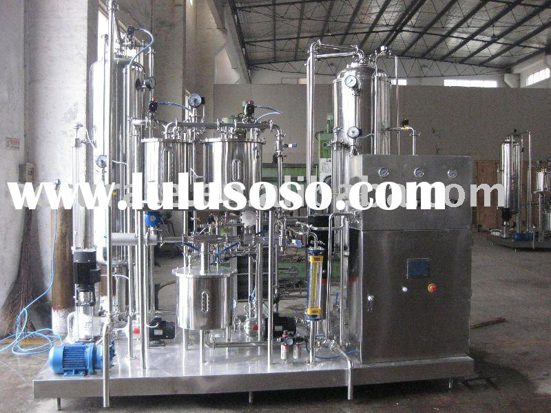 Carbonated drinks production equipment