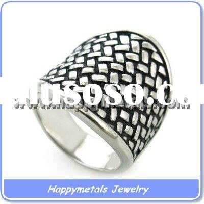 Casting Stainless Steel Ring (R8987)